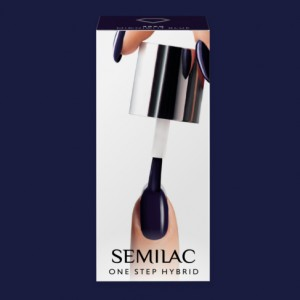S890 Semilac One Step Hybrid  Midnight Blue 5ml Gel Lak