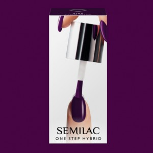 S780 Semilac One Step Hybrid  Plum Wine  5ml Gel Lak
