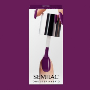 S760 Semilac One Step Hybrid  Hyacinth Violet 5ml Gel Lak
