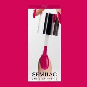 S685 Semilac One Step Hybrid  Pink Purple 5ml Gel Lak