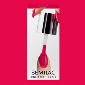 S680 Semilac One Step Hybrid  Magenta  5ml Gel Lak