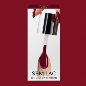 S580 Semilac One Step Hybrid  Crimson 5ml Gel Lak