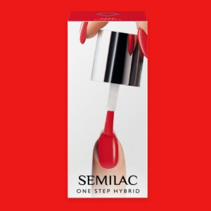 S530 Semilac One Step Hybrid  Scarlet 5ml Gel Lak