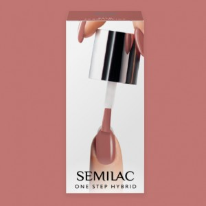 S240 Semilac One Step Hybrid  Peach Beige 5ml Gel Lak