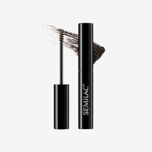 Semilac Gel řasenka na obočí Lady Brows 01 Stone grey