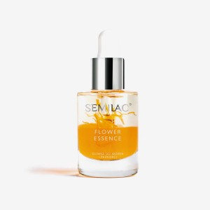 Semilac Care Oil pro kutikuly a nehty Flower Essence Orange Strength