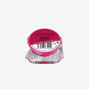 Semilac Flash Neon Effect Intense Red 678